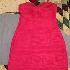 Body Central Strapless Dress